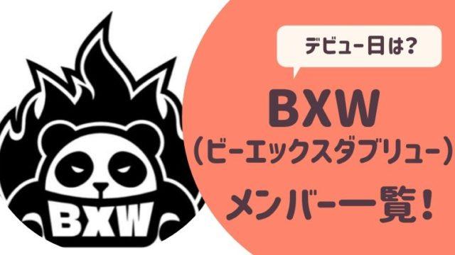 BXWメンバー一覧