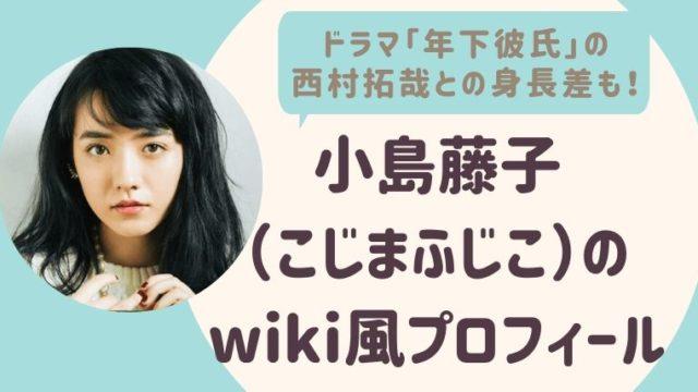 小島藤子のwiki風プロフィール3