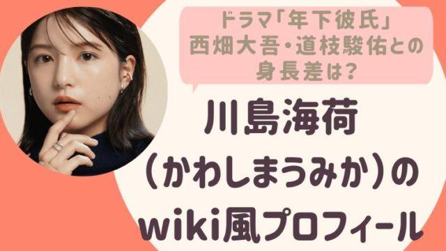 川島海荷のwiki風プロフィール4